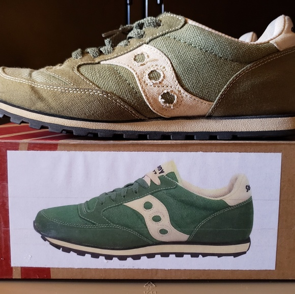 956ff503 SAUCONY MOSS GREEN JAZZ LOW PRO VEGAN SNEAKERS. M_5bad60c04ab6334158844e5e